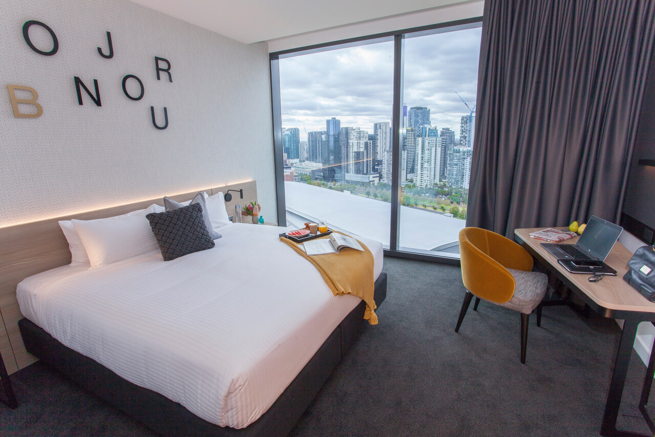 Novotel Melbourne South Wharf Guest Room